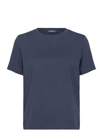 Morris Lady Ella Tee T-shirts & Tops Short-sleeved Sininen Morris Lady BLUE