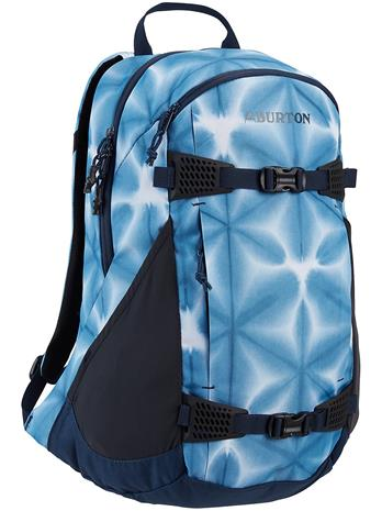 Burton Day Hiker 25L Backpack blue dailola shibori