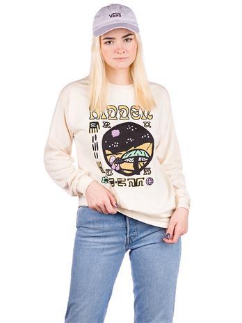 Dravus Hidden Longsleeve T-Shirt natural Naiset
