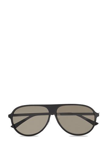 Gucci Sunglasses Gg0829sa Pilottilasit Aurinkolasit Musta Gucci Sunglasses BLACK-RUTHENIUM-GREY