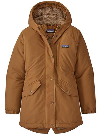 Patagonia Insulated Isthmus Parka umber brown Tytöt