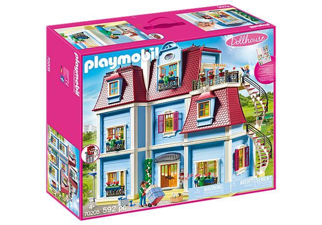 Playmobil Dollhouse 70205, Suuri nukkekoti
