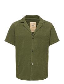 OAS Army Cuba Terry Shirt Lyhythihainen Paita Vihreä OAS GREEN