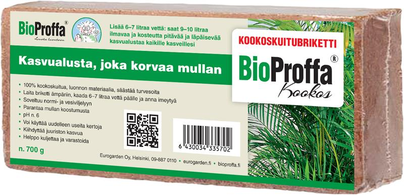 Kookoskuitubriketti Bioproffa 700 g