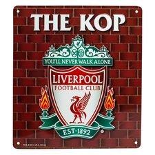 Liverpool, metallikyltti