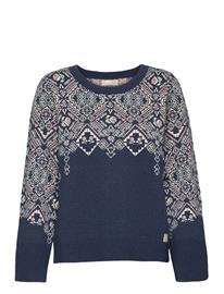 ODD MOLLY Nicole Sweater Neulepaita Sininen ODD MOLLY SLICE OF BLUE