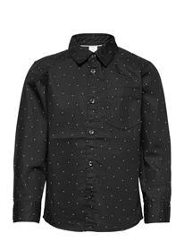 Lindex Shirt Christmas Paita Musta Lindex BLACK