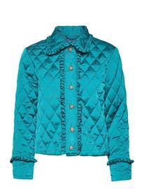 Cras Saracras Jacket Tikkitakki Sininen Cras ENAMEL BLUE