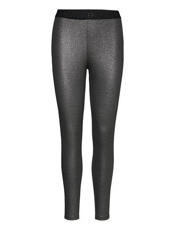 Calvin Klein Jeans Coated Milano Legging Leggingsit Musta Calvin Klein Jeans CK BLACK