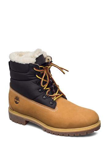 Timberland 6 Heritage Puffer Bt Wl Shoes Boots Winter Boots Ruskea Timberland WHEAT