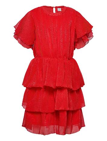 Lindex Dress Ophelia Mekko Punainen Lindex RED