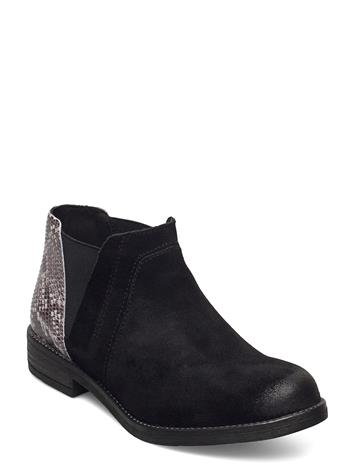 Clarks Demi Beat Shoes Chelsea Boots Musta Clarks BLACK COMB SNAKE