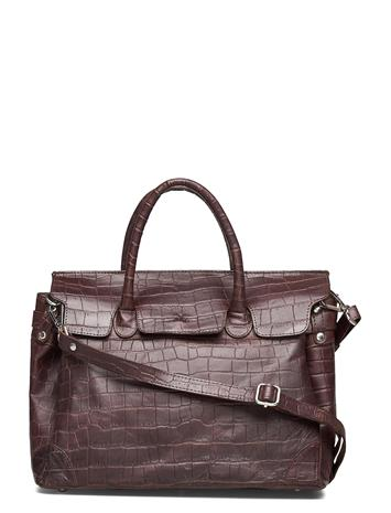 Adax Teramo Eco Handbag Gigi Bags Top Handle Bags Ruskea Adax DARK BROWN