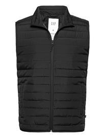 GAP V-Lightweight Puffer Vest Liivi Musta GAP TRUE BLACK