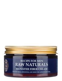 Raw Naturals Brewing Company Monster Fiber Cream Hiusvoide Hiusten Muotoilu Nude Raw Naturals Brewing Company CLEAR