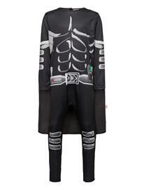 Lindex Pajama Sk Muscle Suit Dark He Pyjamasetti Pyjama Musta Lindex BLACK