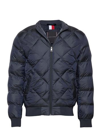 Tommy Hilfiger Two T S Padded Bomber Vuorillinen Takki Topattu Takki Sininen Tommy Hilfiger DESERT SKY