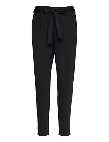 MOSS COPENHAGEN Popye Pants Slimfit Housut Pillihousut Musta MOSS COPENHAGEN BLACK