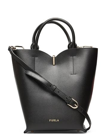 Furla Furla Ribbon S Bucket Bag Bags Bucket Bag Musta Furla NERO