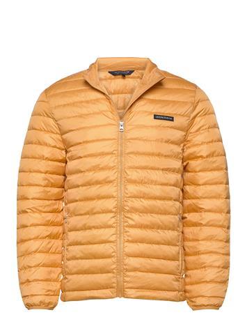 Lexington Clothing Ted Jacket Vuorillinen Takki Topattu Takki Keltainen Lexington Clothing YELLOW