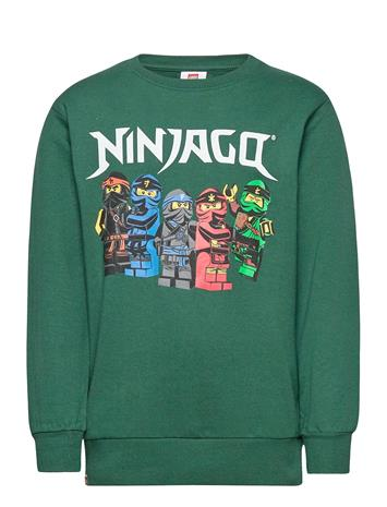Lindex Sweater Ninjago Svetari Collegepaita Vihreä Lindex GREEN