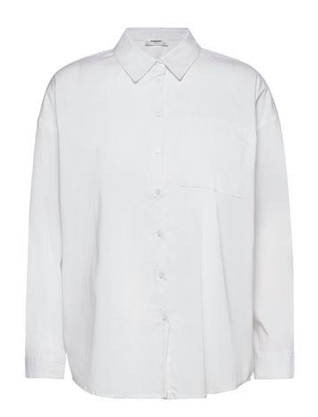 MOSS COPENHAGEN Odine Ava Shirt Pitkähihainen Paita Valkoinen MOSS COPENHAGEN WHITE