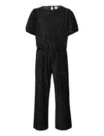 Lindex Jumpsuit Lurex And Velvet Jumpsuit Haalari Musta Lindex BLACK