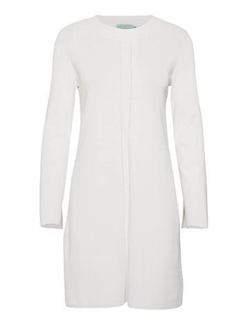 Morris Lady Emeline Knit Dress Polvipituinen Mekko Valkoinen Morris Lady OFF WHITE