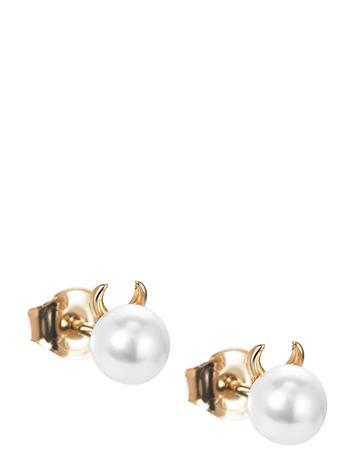 Efva Attling Little Devil Ear Accessories Jewellery Earrings Studs Kulta Efva Attling GOLD