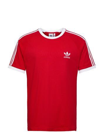 adidas Originals 3-Stripes Tee T-shirts Short-sleeved Punainen Adidas Originals SCARLE