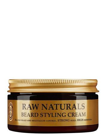 Raw Naturals Brewing Company Beard Styling Creme Hiusvoide Hiusten Muotoilu Nude Raw Naturals Brewing Company CLEAR