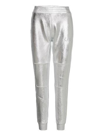 Karl Lagerfeld Coated Sweatpants Collegehousut Olohousut Hopea Karl Lagerfeld MTLC SILVER