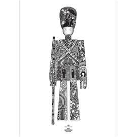 Kay Bojesen Kay Bojesen-Guardsman Poster, 50x70 cm