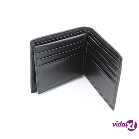 INF Nahkainen lompakko, jossa RFID Black