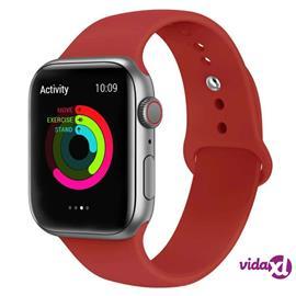 INF Apple Watch armband 38 mm silikon - mörkrosa