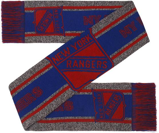 NHL - New York Rangers - Huivi isolla logolla - Huivi - Unisex - Monivärinen