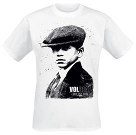 Volbeat - RRR Tracklist - T-paita - Miehet - Valkoinen