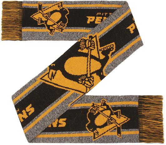 NHL - Pittsburgh Penguins - Huivi isolla logolla - Huivi - Unisex - Monivärinen