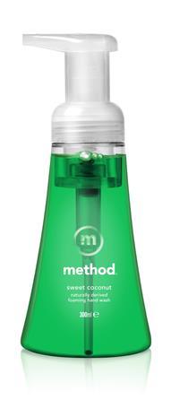 Method Sweet Coconut 300 ml vaahtoava nestesaippua