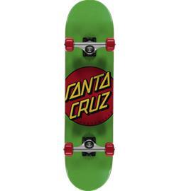 "Santa Cruz CLASSIC DOT 7.8"" GREEN/RED"