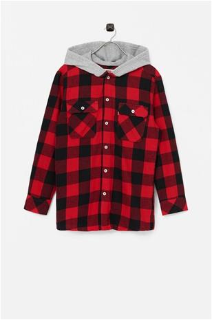 Levi's Paitatakki Lvb Hooded Shirt Jacket