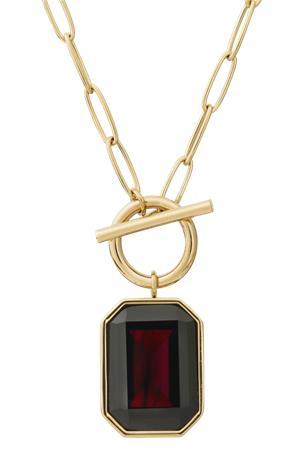 Edblad Kaulakoru Grand Necklace Plum Gold
