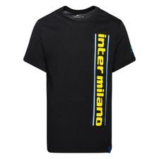 Inter T-paita Training Ground - Musta/Keltainen