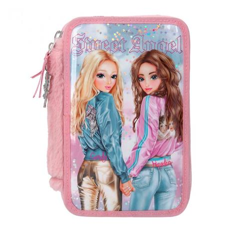 Top Model - Trippel Pencil Case - Kitchy Angel (11204)