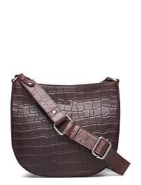 Adax Teramo Eco Shoulderbag Shila Bags Small Shoulder Bags - Crossbody Bags Ruskea Adax DARK BROWN