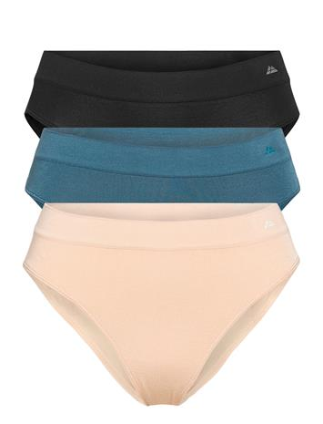 Danish Endurance Womens Bamboo Bikini Briefs 3-Pack Alushousut Brief Tangat Monivärinen/Kuvioitu Danish Endurance MULTICOLOR (1X BLACK, 1X LYON'S BLUE, 1X NUDE BEIGE)
