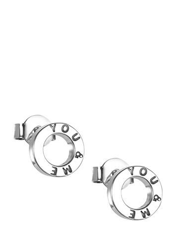 Efva Attling Mini Me You & Me Ear Accessories Jewellery Earrings Studs Hopea Efva Attling SILVER