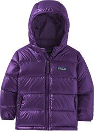 Patagonia Hi-Loft Untuvatakki Hupullinen Vauva Lapset, purple