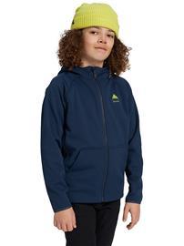 Burton Crown Weatherproof Sherpa Zip Hoodie dress blue Jätkät