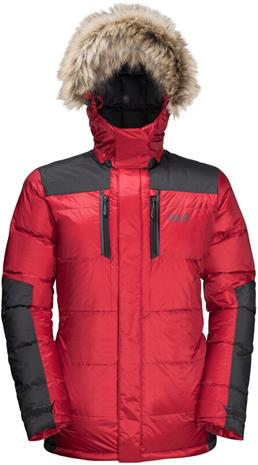 Jack Wolfskin The Cook Parka Miehet, red lacquer